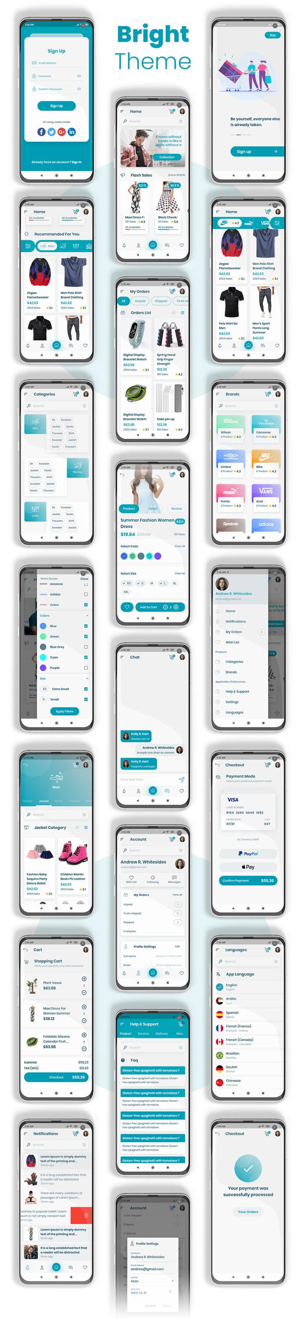 E-Commerce Flutter App UI Kit - 5